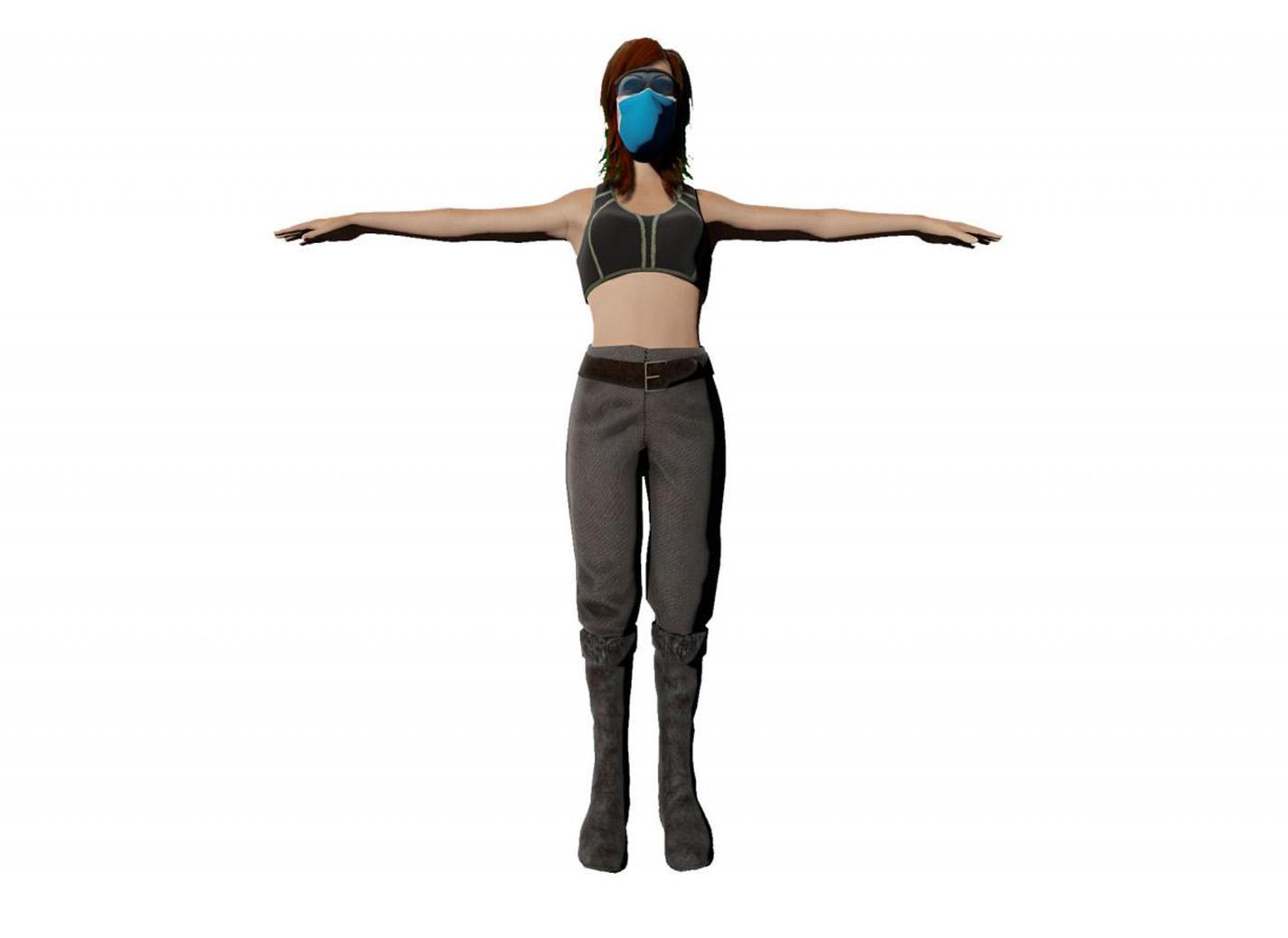 Femme modèle 1