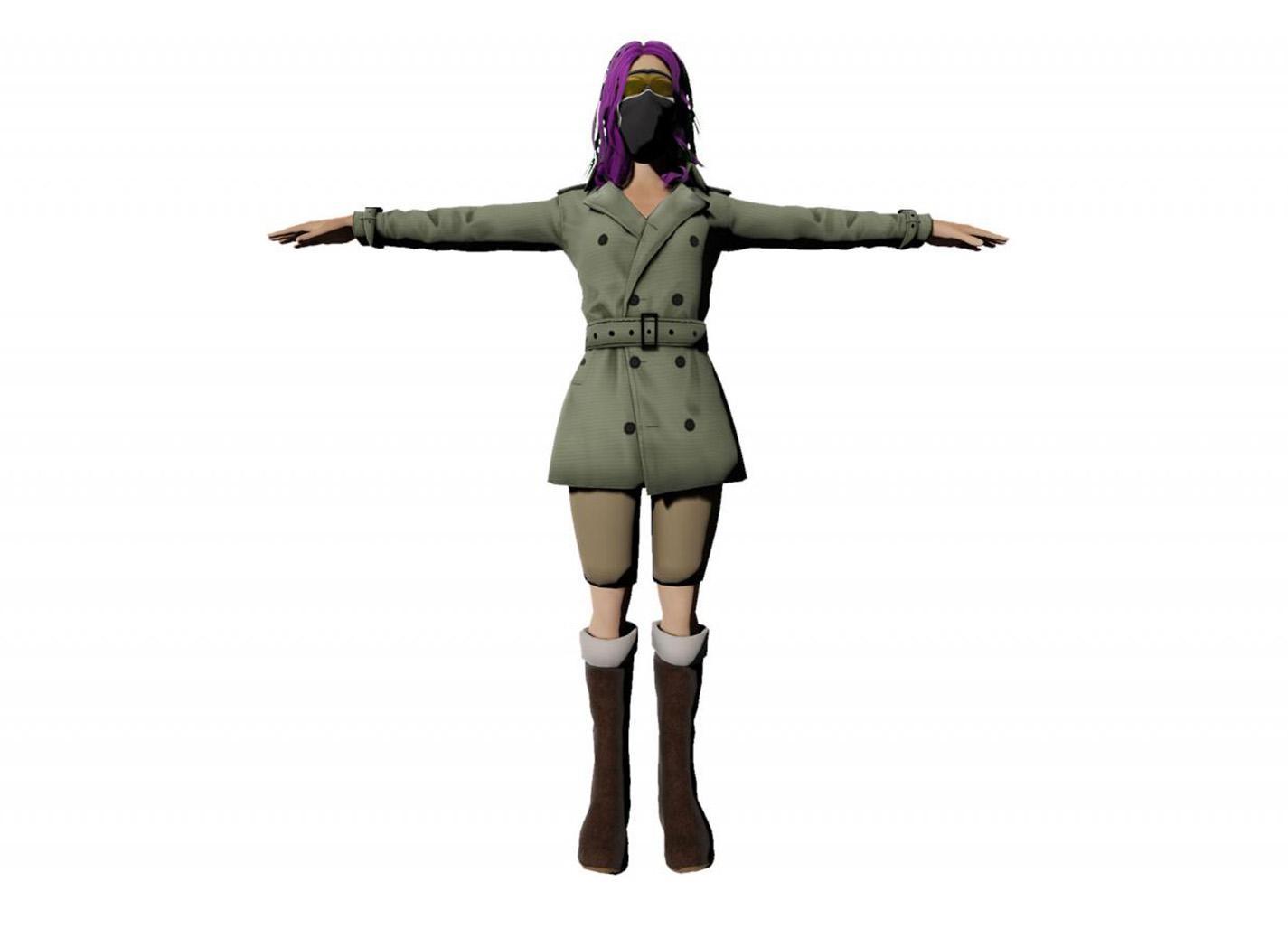 Femme modèle 2
