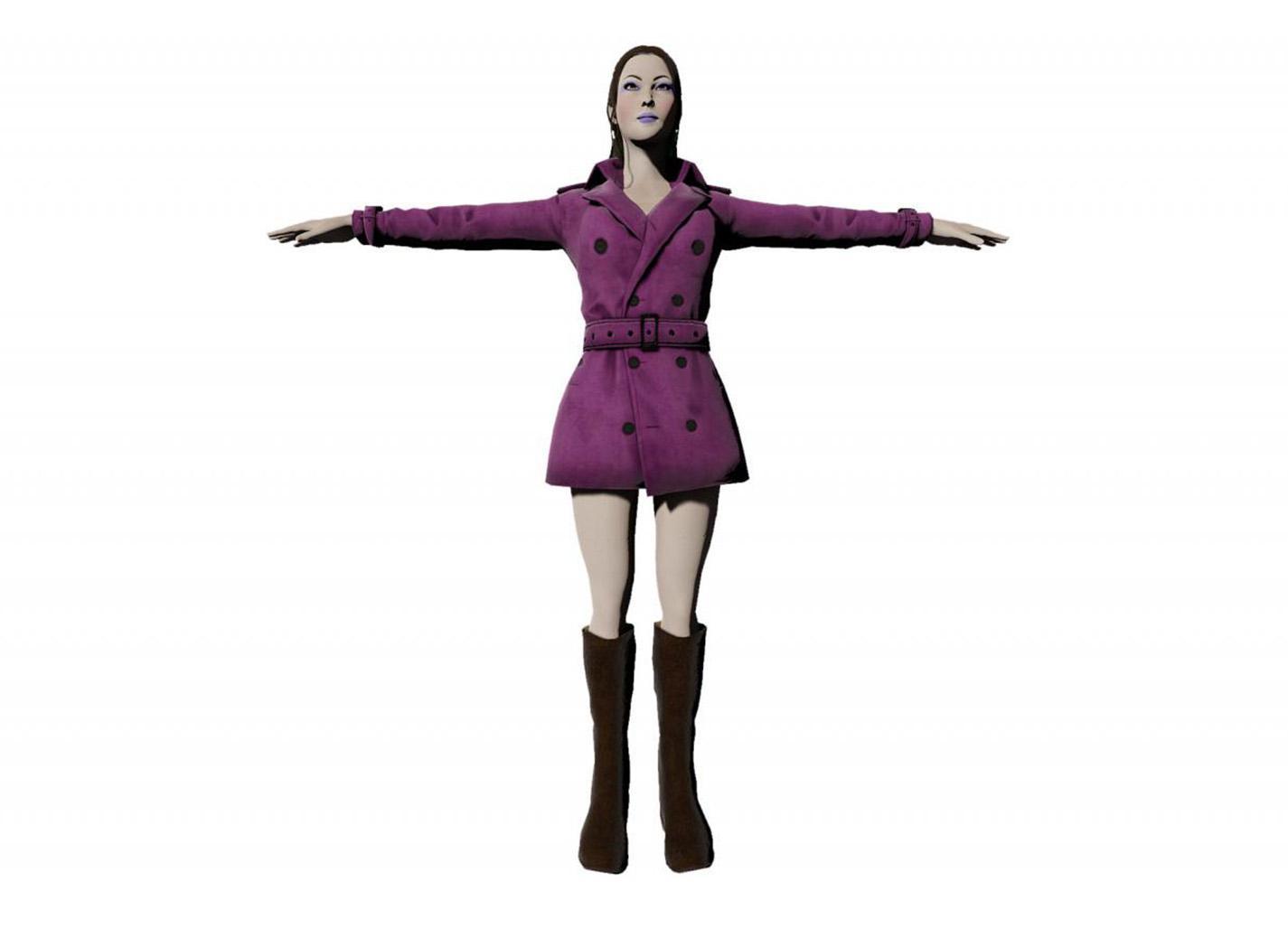 Femme modèle 3