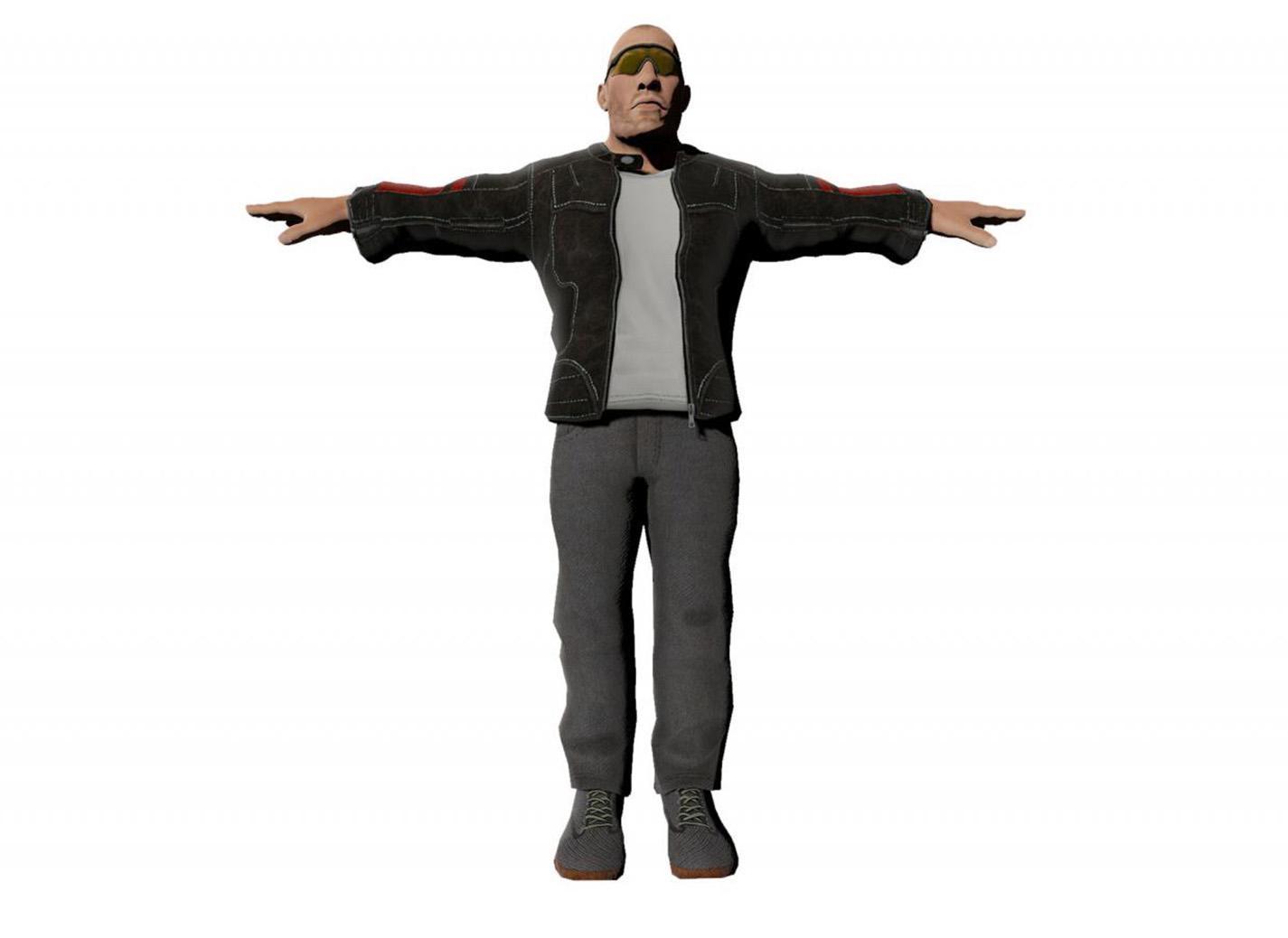 Homme modèle 1