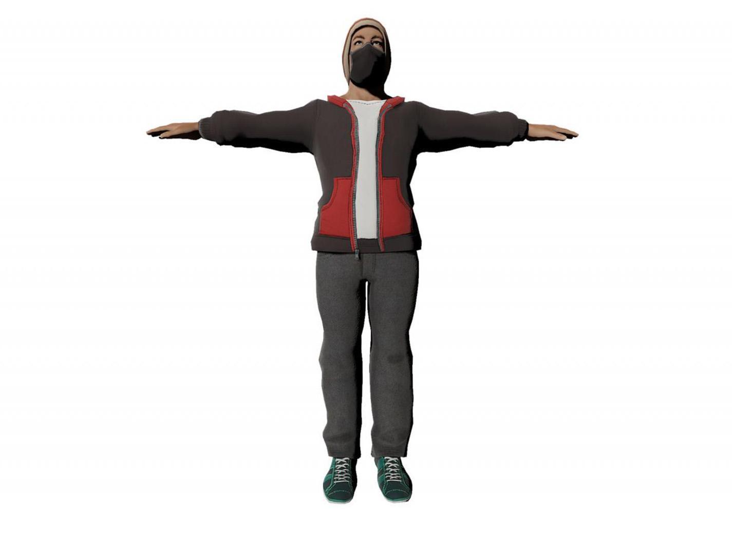Homme modèle 2