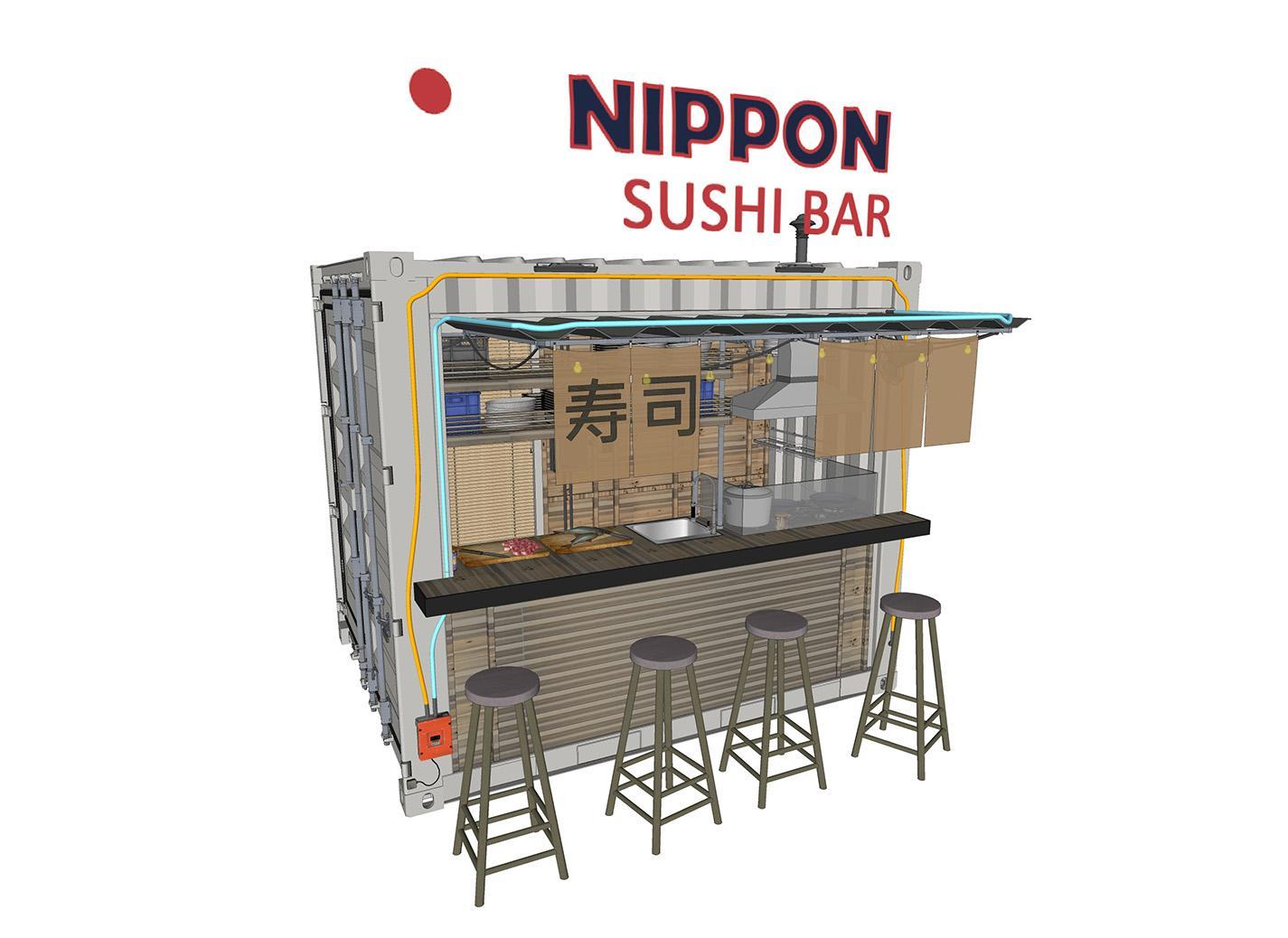 Restaurant modèle 4