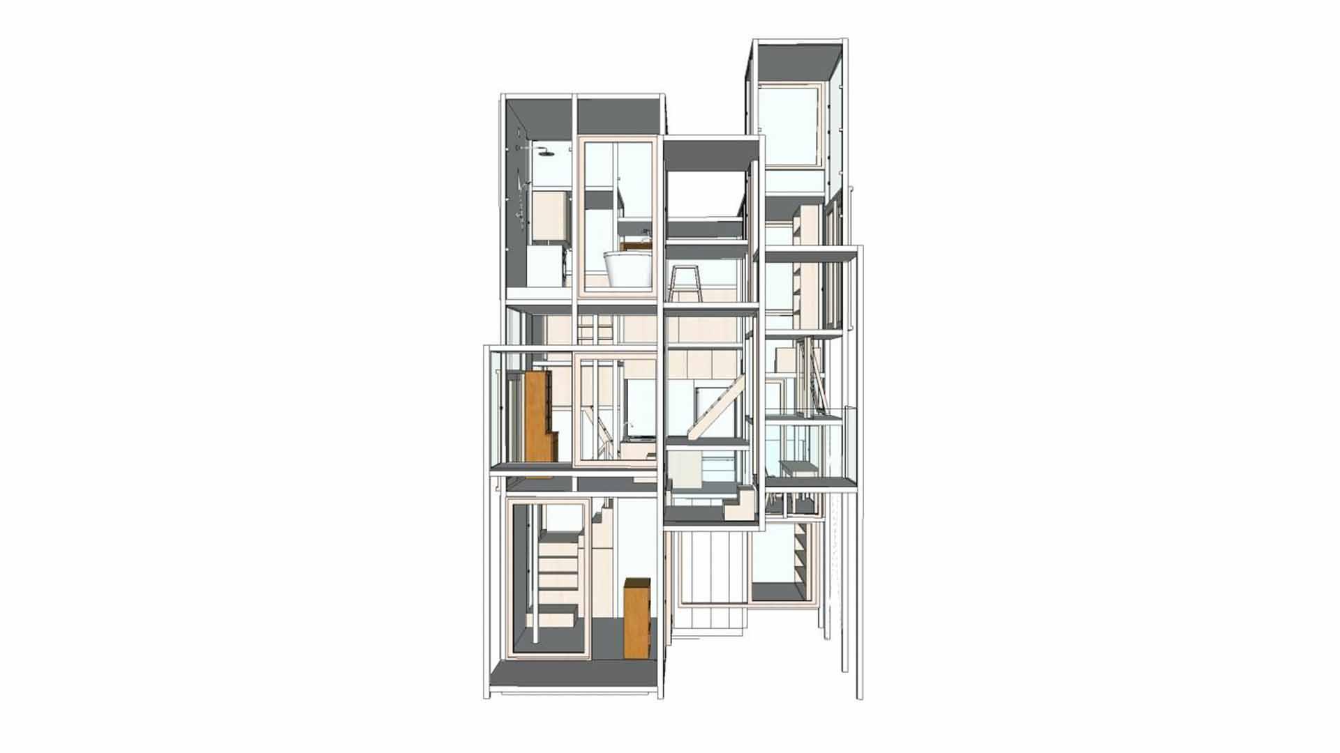 SketchUp House Na