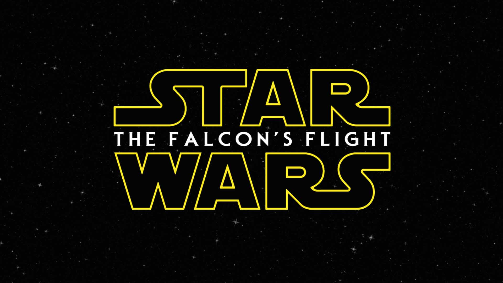 STAR WARS THE FALCON'S FLIGHT