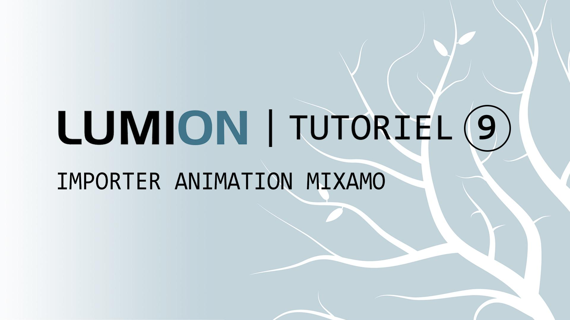 Tutoriel 9 : Importer animation Mixamo